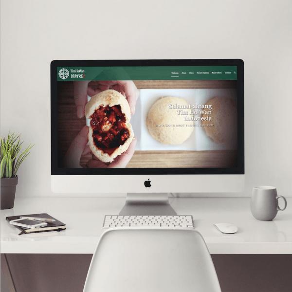 Portofolio webiste restaurant