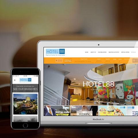 SEO Agency Hotel 88
