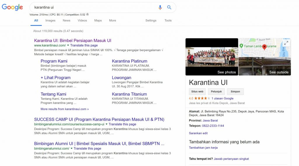 google business seo indonesia