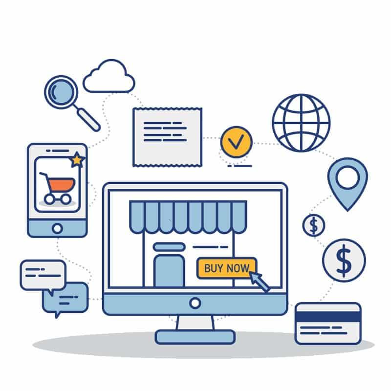 Flow Transaksi Online